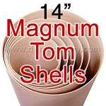 14 in. Diameter 5 Ply Magnum Tom Shell