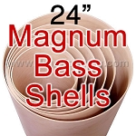 24 in. 5 Ply Magnum Bass Drum Shell