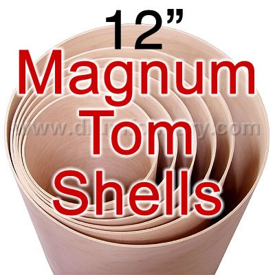 12 in. Diameter 5 Ply Magnum Tom Shell