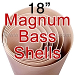 18 in. 5 Ply Magnum Bass Drum Shell